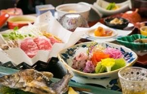それぞれ異なる4つの茶屋で、上州の旬の味覚に舌鼓